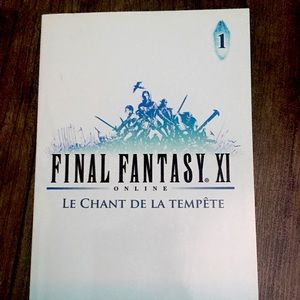 4 Final Fantasy XI books FRANÇAIS